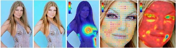 数字化图片润色程度的量化衡量