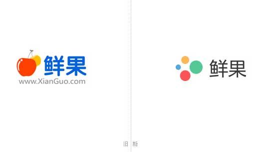鲜果新老 Logo