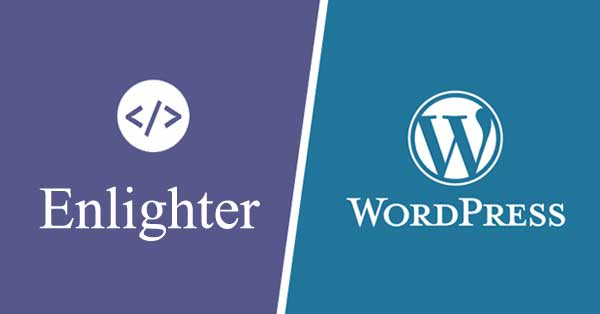 Wordpress 代码高亮插件 Enlighter